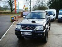 2003 MITSUBISHI L200 2.5 TD Warrior Limited Edition Crewcab Pickup 4dr