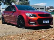 2015 Holden Commodore VF II SV6 Red 6 Speed Automatic Sedan Kenwick Gosnells Area Preview