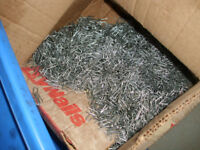 10kg GALVANISED Netting staples-20x2.0 presser point U nails for fencing/ mesh
