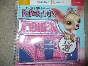 Brand New Create Your Own Paper Pups