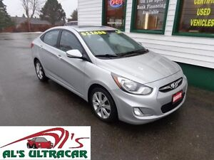 2014 Hyundai Accent GLS w/ Sunroof for only $110 bi-weekly!