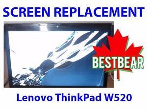 Screen Replacment for Lenovo ThinkPad W520 Series Laptop