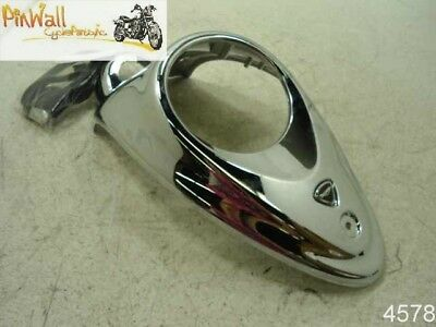2008-2013 Triumph Rocket III Touring GAS TANK CONSOLE INSTRUMENT COVER CHROME