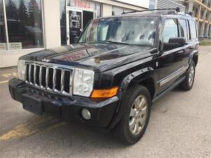 2006 Jeep Commander Limited 4X4 DVD LOW KM