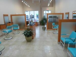 barber chair / used salon furniture / spa furniture closing down