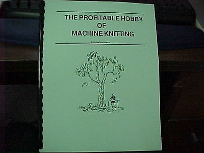 Profitable Hobby Of Machine Knitting-Learn how to make$