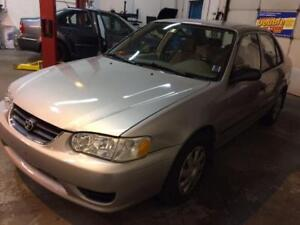 2003 TOYOTA COROLLA CE ACCIDENT FREE LOW KMS FOR THE YEAR AUTO