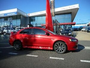 2014 Mitsubishi Lancer CJ MY14 Ralliart Red 6 Speed Direct Shift Sedan Belconnen Belconnen Area Preview