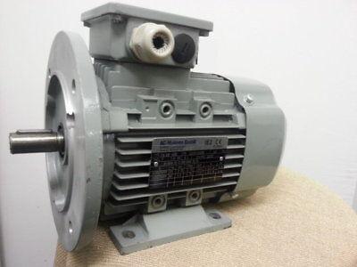 Elektromotor Drehstrommotor 0,37 kW 3000 U/min B3/B5 Volt 230/400 D/Y