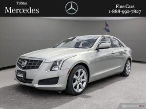 2014 Cadillac ATS 2.0L Turbo AWD LOW MILEAGE!!!$218 BIWEEKLY ALL