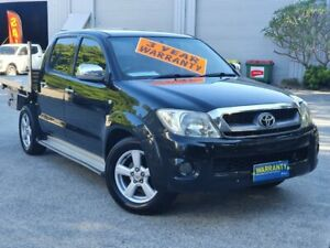 2005 Toyota Hilux GGN15R MY05 SR5 4x2 Black 5 Speed Manual Utility Mayfield East Newcastle Area Preview