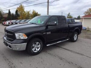 2018 RAM 1500 Outdoorsman Quad Cab