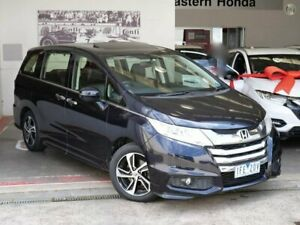 2015 Honda Odyssey RC MY15 VTi-L Black 7 Speed Constant Variable Wagon Doncaster Manningham Area Preview
