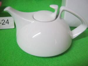 Sammel Teekanne 2 tlg Tac weiß 10 cm OVP  von Rosenthal
