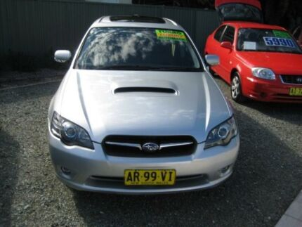 2004 Subaru Liberty MY04 GT Silver 5 Speed Auto Elec Sportshift Wagon Tuncurry Great Lakes Area Preview