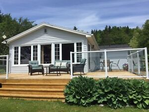 Water-front home on Bras D'or Lake