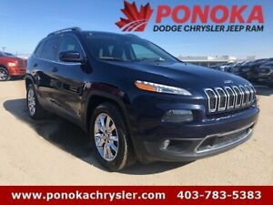 2015 Jeep Cherokee Limited, Heated Seats & Steering Wheel, Remot