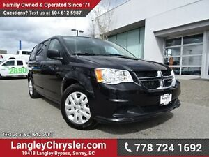 2014 Dodge Grand Caravan SE/SXT ACCIDENT FREE w/ SUNROOF, TOW...