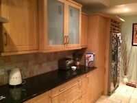 29 Excellent Modern Beech Kitchen Cupboard Doors and Drawer Fronts for sale £190 ono.