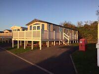 Holiday Caravan at Devon Cliffs Exmouth