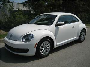 2013 VOLKSWAGEN BEETLE 2.0L TDI (AUTOMATIQUE, AIR, MAGS, FULL!)