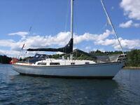 36' Cabotcraft Cutter Sailboat