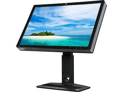 "HP Black 24"" Widescreen IPS Panel LCD Monitor"