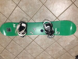 Snow Board Burton Flying V Custom
