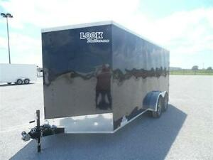 New 2017 7x14 Enclosed trailer Deluxe Model with 2x 3500lb axles