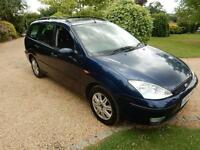 CHEAP CAR- 2004 04 FORD FOCUS 1.8 GHIA TDI 5D 89 BHP DIESEL
