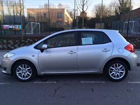 Low mileage 07 Toyota Auris 1.4 Diesel Auto, good value don't miss