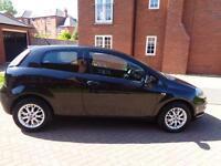 2011 Fiat Punto Evo 1.4 8v Active 3dr Black Petrol Maunal Only 58k Miles