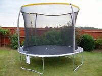 10ft TRAMPOLINE (used in good condition)