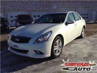Infiniti G37X S Sport AWD Toit Ouvrant Cuir MAGS Bluetooth 2013