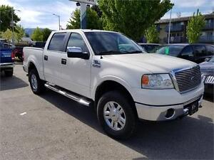 2008 Ford F-150 Lariat CREW 4X4 - LOADED OPULENCE & AFFORDABLE