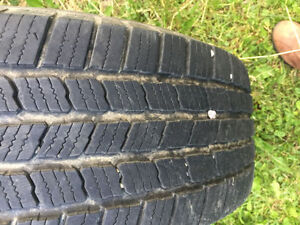 235/75 R 15 SUMMER TIRES with JEEP WRANGLER  RIMS