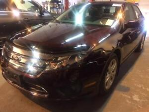 2012 FORD FUSION SE / ONE OWNER/ AUTO/ALLOYS/GAS SAVER