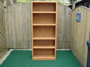 4 x wood shelving unit