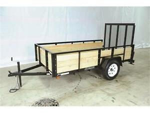 Wooden high side 6X10 Trailer