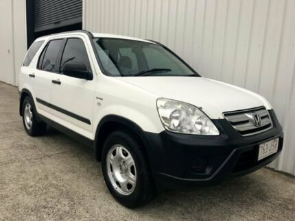 2006 Honda CR-V RD MY2006 4WD White 5 Speed Automatic Wagon
