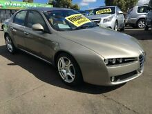 2006 Alfa Romeo 159 JTS Silver 6 Speed Manual Sedan Lidcombe Auburn Area Preview
