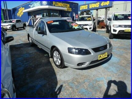 2006 Ford Falcon BF MkII XL (lpg) Silver 4 Speed Auto Seq Sportshift Utility Homebush West Strathfield Area Preview
