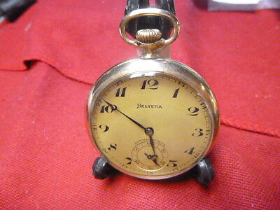 Helvetia pocket watch , run, M001