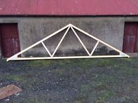 New Roof Trusses