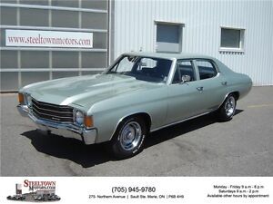 Chevrolet Chevelle V8|307 Engine|3 Speed Transmission|Cowil Hood