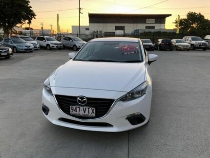 2014 Mazda 3 BM Neo White 6 Speed Manual Sedan Coopers Plains Brisbane South West Preview
