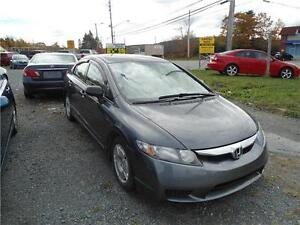 2010 CIVIC DX-G WITH A/C CRUISE CONTROL , NEW TIRES