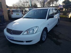 2008 Mitsubishi Lancer CH MY07 ES White 4 Speed Auto Sports Mode Wagon Campbelltown Campbelltown Area Preview