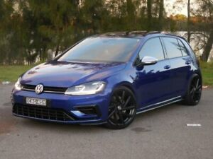 2017 Volkswagen Golf Mk 7.5 R Blue Automatic Hatchback Lansvale Liverpool Area Preview