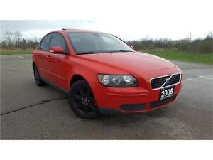 2006 Volvo S40 2.4L, Sunroof, Certified